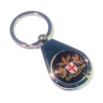 Pear keyring 25mm